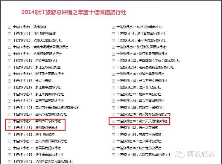 杭州有哪些旅行社