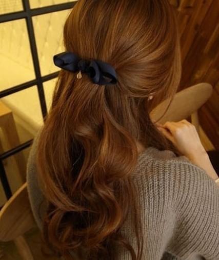 亚麻棕头发图片