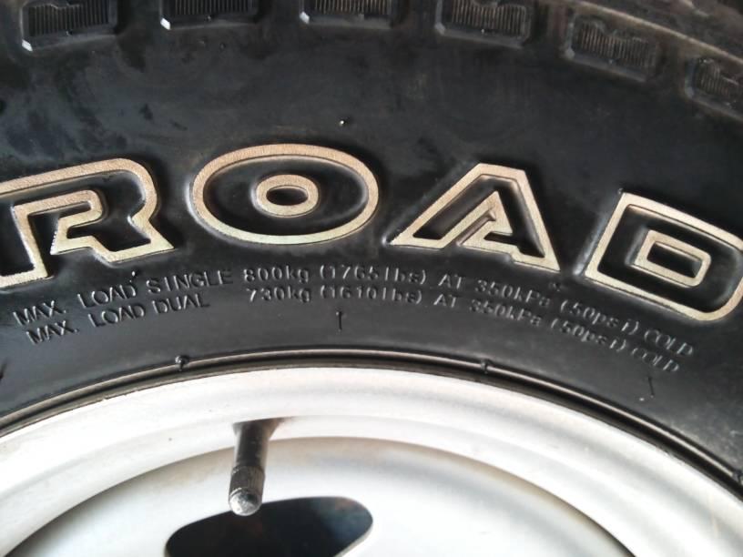 轮胎运行最高气压350kpa图片