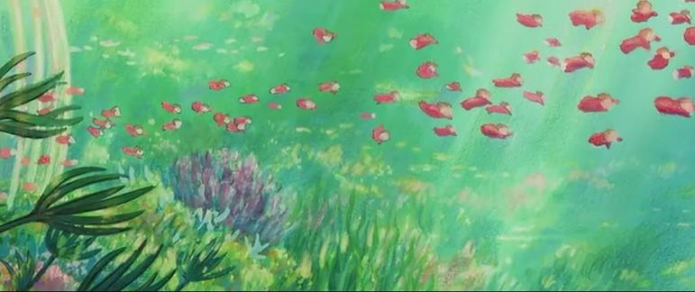 美丽新世界绘画_世界 科幻 画 解说 海底 世界 ...