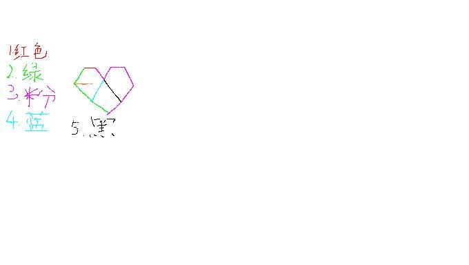 exo爱心的标志珍怎么画图片