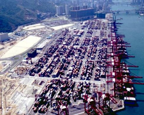新加坡码头
