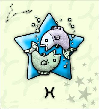 双鱼座漫画图片