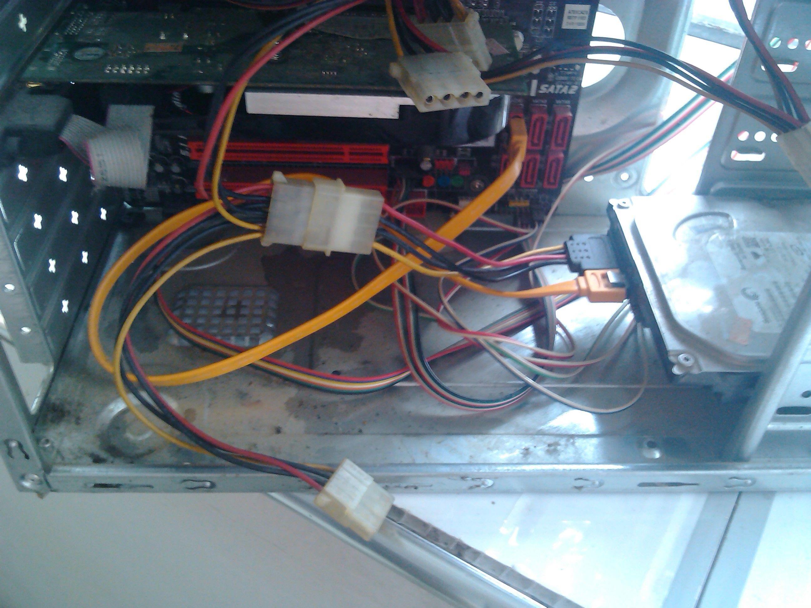 台式电脑如何设置双硬盘?图片