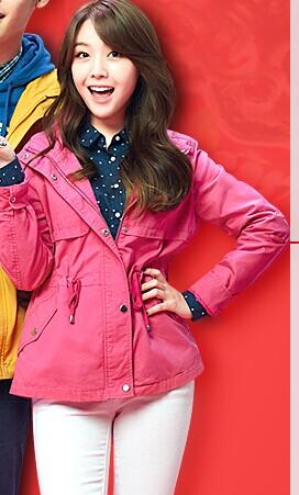 森马天猫旗舰店的女代言人是谁啊?韩国的?图片