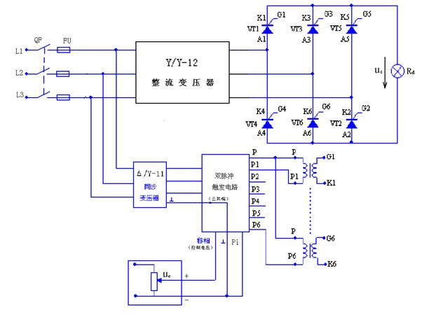 三相桥式半控电路三相桥式半控电路三相桥式半控整流电路图片