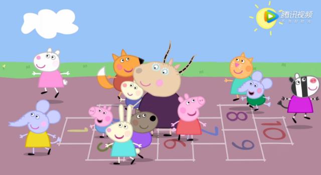 小猪佩奇这部动画片制作也算用心的?图片