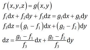 隐函数的二阶全微分