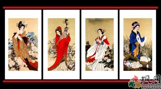 中国古代四大美女真的好看吗