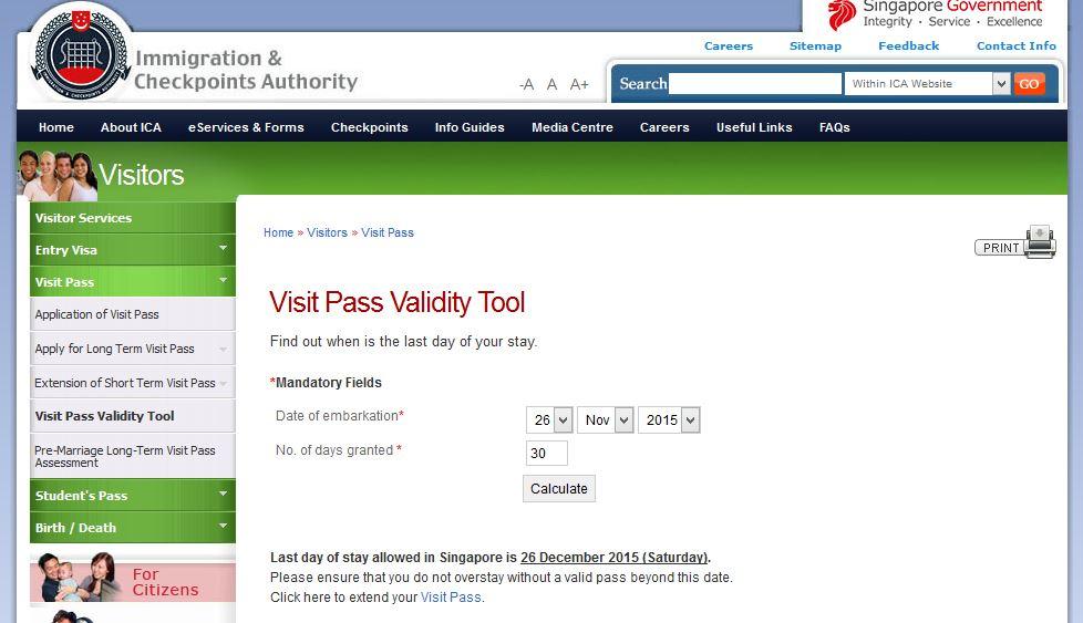 新加坡入境规定