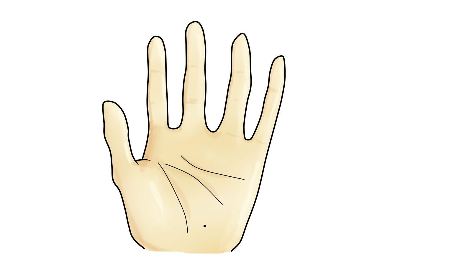 我左手手掌有痣,寻找右手手掌同样位置有痣的女生图片