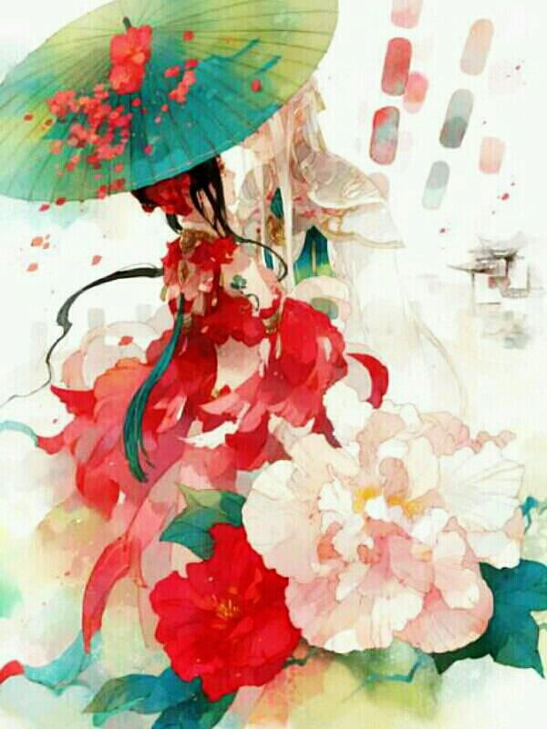 撑伞女子古风图 古风女子撑伞背影图 白娘子许仙撑伞图