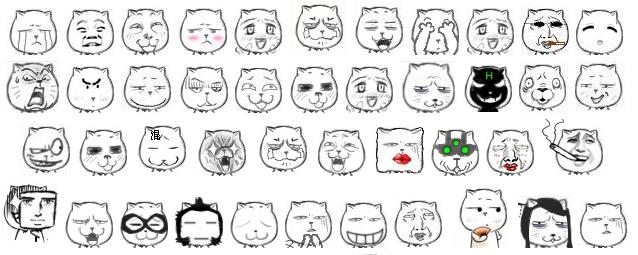怪的脸安在猥琐猫身上啊…… 评论  其他类似问题 qq表情包的相关知识图片