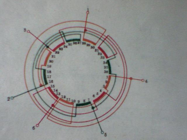 WWW_84ZC_COM_132kw72槽4/8级2路电机绕组接线图