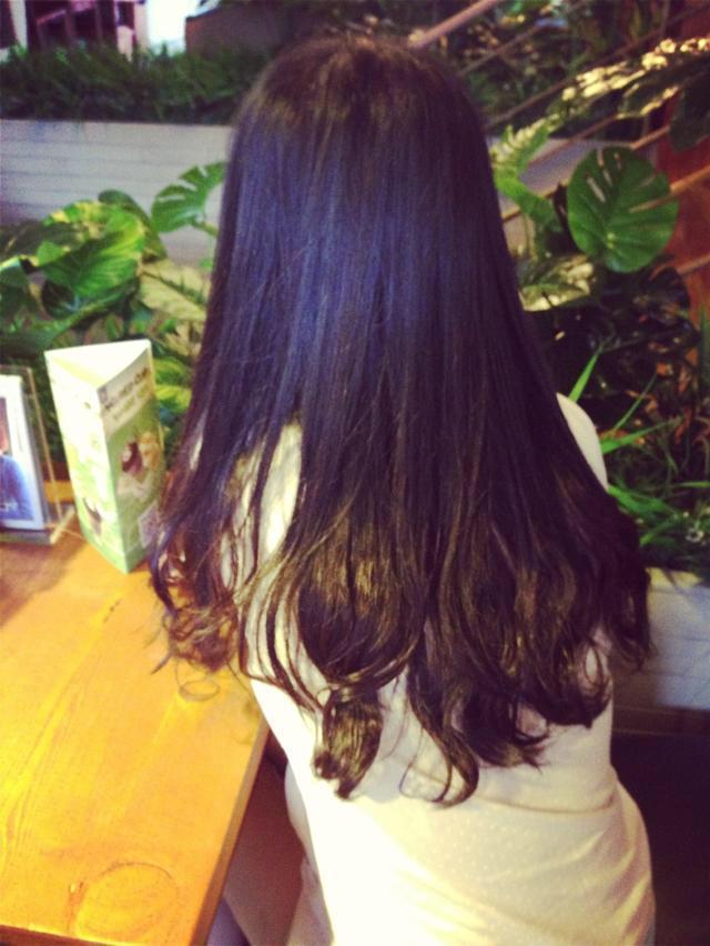 这种烫发叫什么烫?冷烫还是热烫.对头发伤害大吗图片