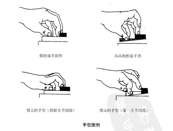 如何学习正确的钢琴手型 (图解)图片