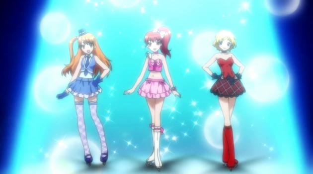 我是想寻找一个关于溜冰少女的日本动漫.