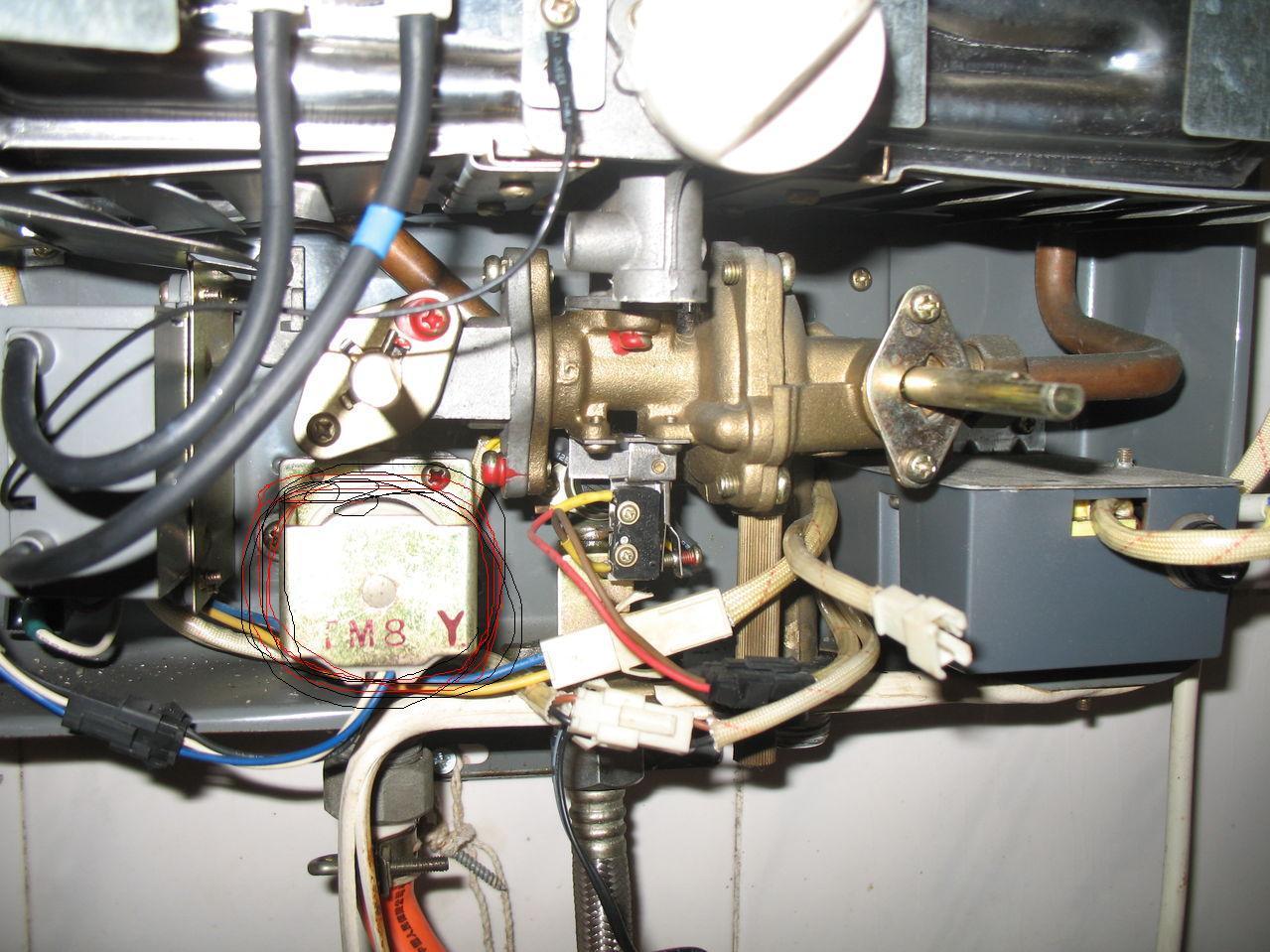 热水器坏了怎么修理图片