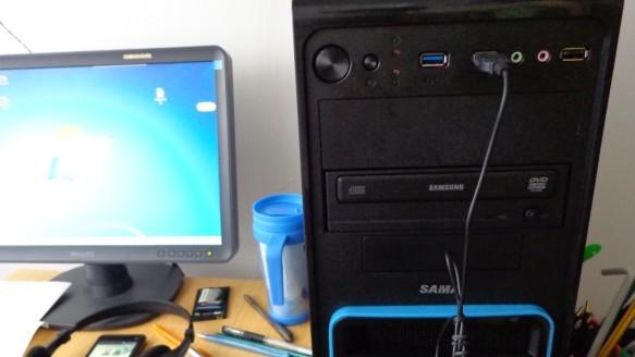 新买台式电脑电源,硬盘指示灯的问题.图片