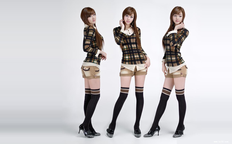 爱运动的韩国极品美女虽然没有林智慧