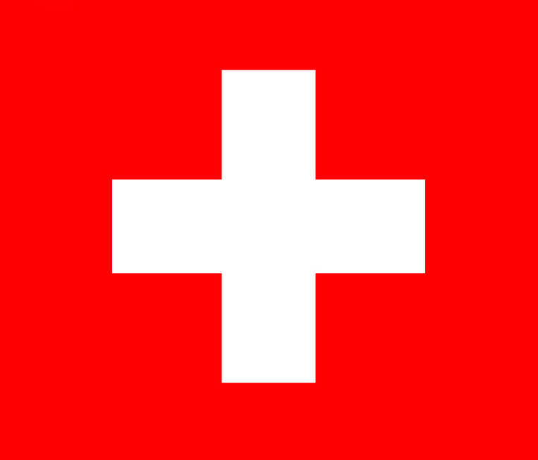 哪个国家的国旗上有一个十字架