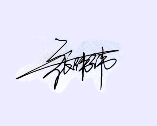 谁能设计好我的连笔字签名啊,名字很生僻,一直签的都不好看,王.图片