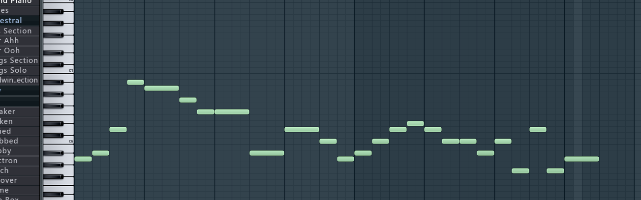 请教大神们如何自学钢琴编曲?比如用fl这样的宿主软件图片