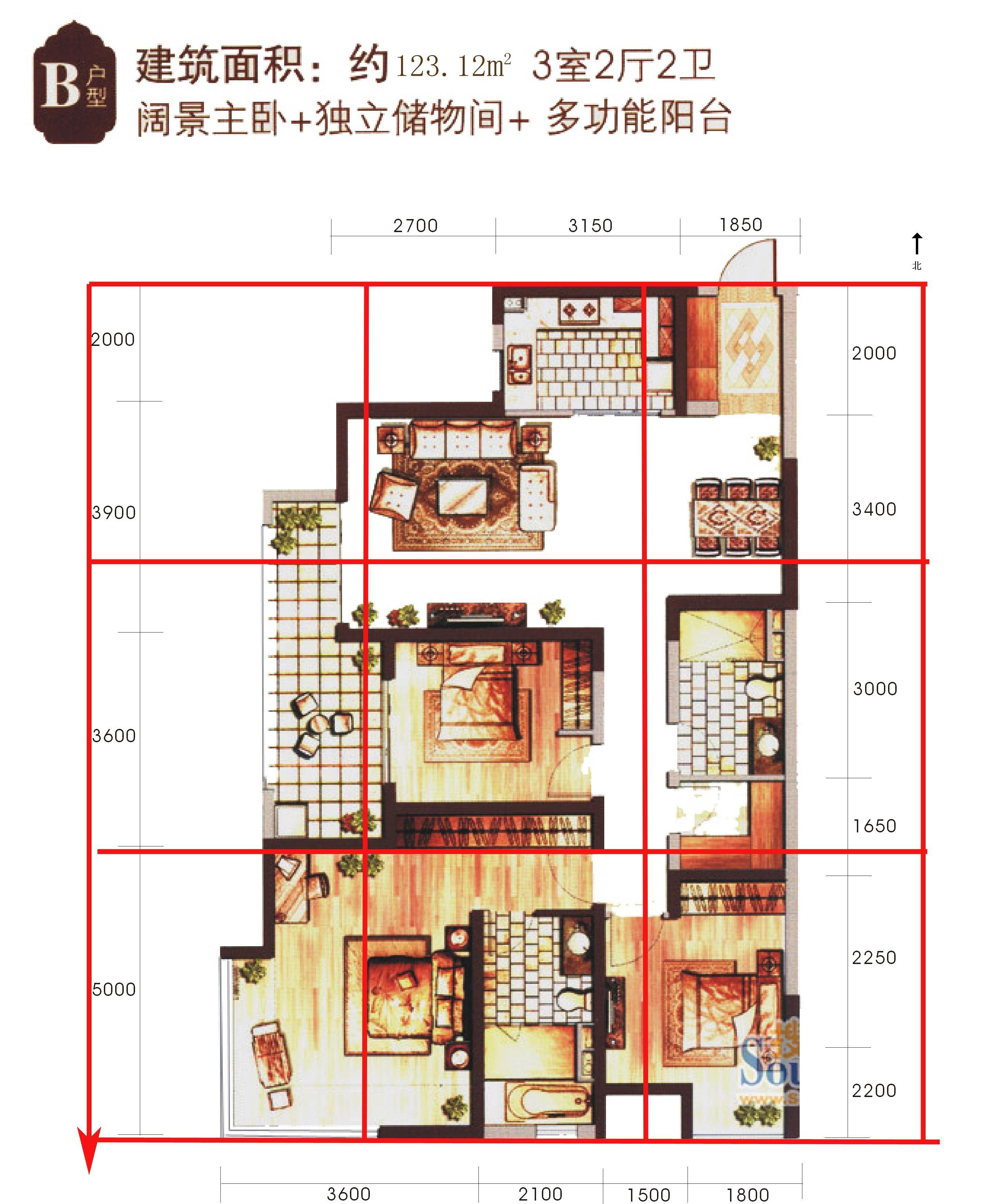 请问风水先生南北长方形的房子怎么样,这样算不算缺角图片