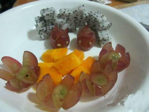 简单的水果拼盘的做法(最好配着图片)图片