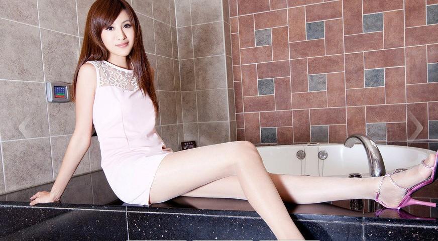 台湾腿模简晓育