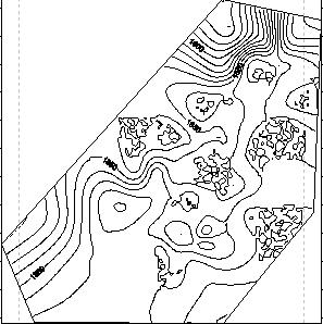 surfer怎么畫等值線 利用gogomap快速便捷的制作校園周邊等高線地形圖
