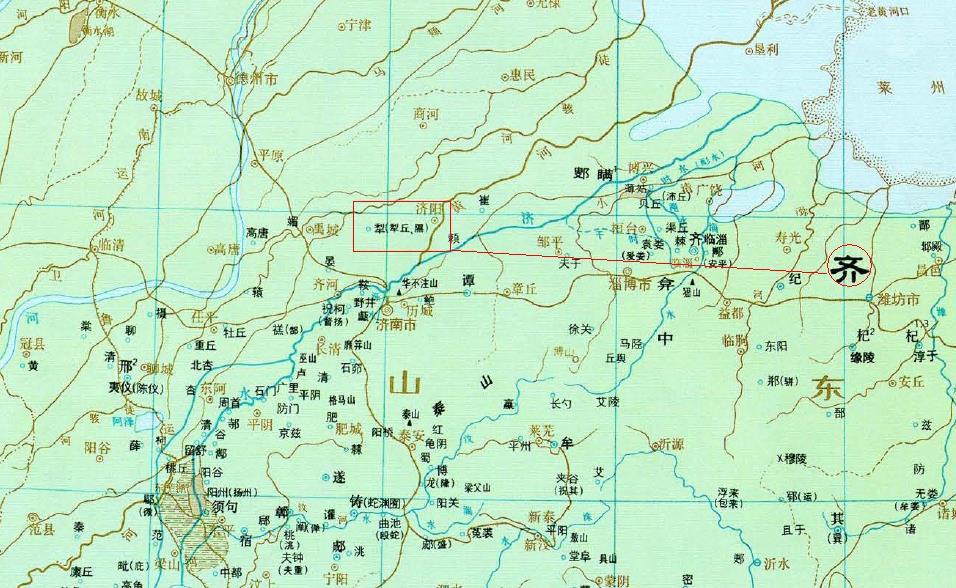求春秋战国时期赵国地图
