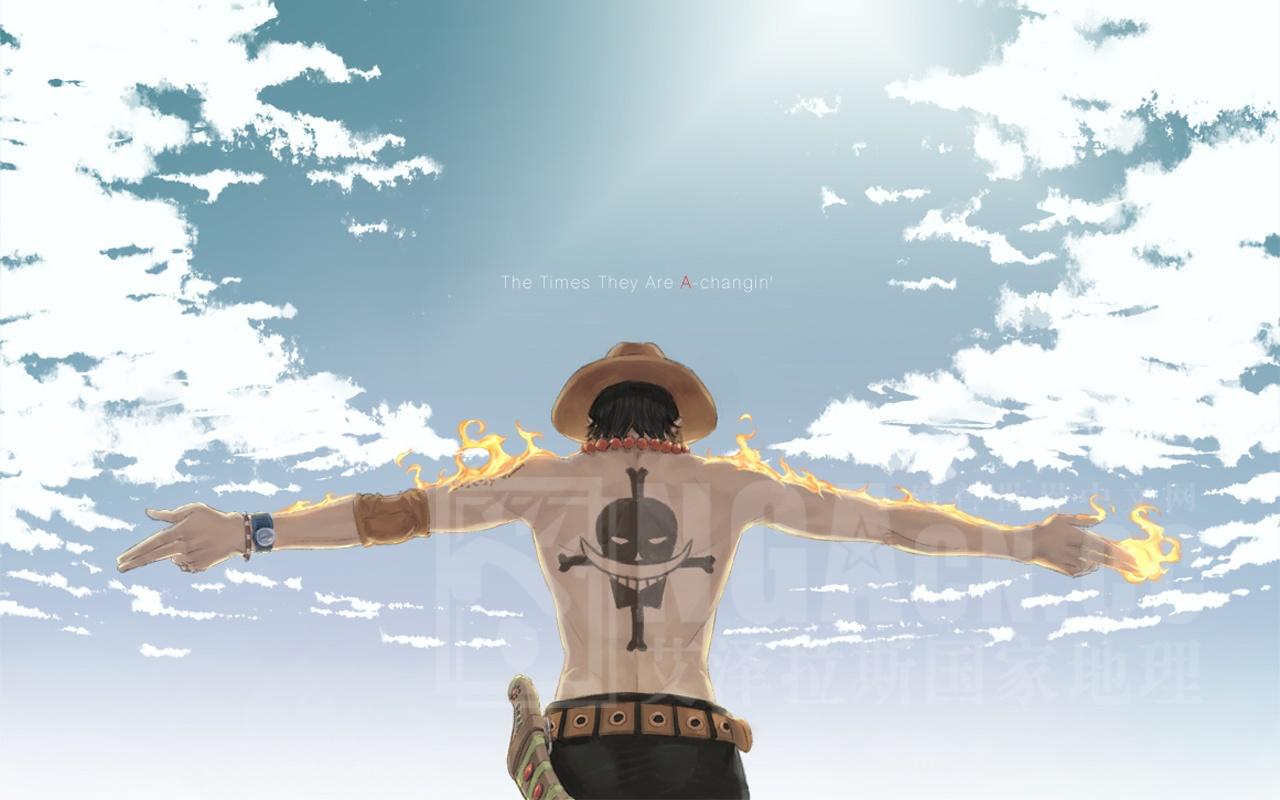 海贼王萨博艾斯路飞 海贼王艾斯q版头像 海贼王艾斯之死壁