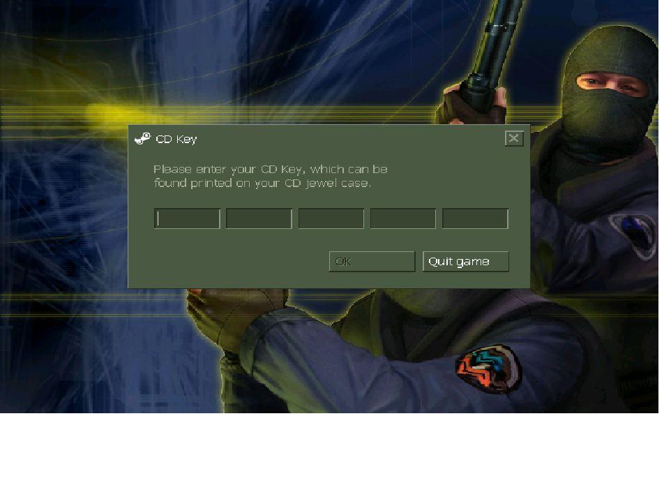 cs1.6为什么进去的时候要填 cd key