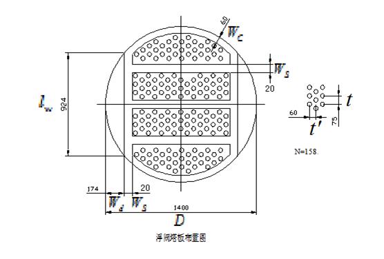 求问,浮阀塔板布置图如何用cad做,求详细步骤图片