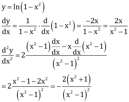 y=ln(1 2x)的二阶导数