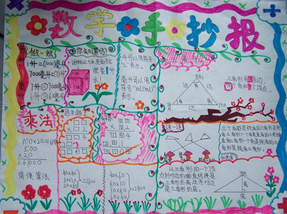 7 2013-08-22 要数学手抄报和关于春天或春节的语文手抄报 3 2011-10
