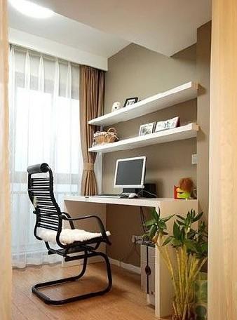 卧室相连阳台,现在我吧阳台和卧室打通了,想在阳台那放个小书桌 该