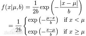 高斯概率密度函数