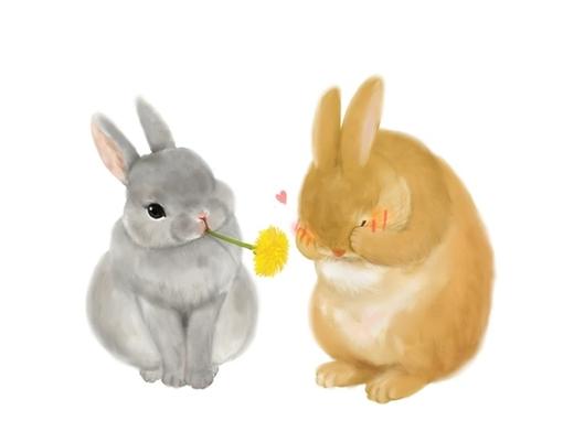 u627e u4e00 u4e9b u5f88 u840c u7684 u52a8 u7269 u98df u7269 u5316 u7684 u56fe u7247 uff01  u767e u5ea6 u77e5 u9053 cute bunny clipart free cute bunny clip art blowing kiss