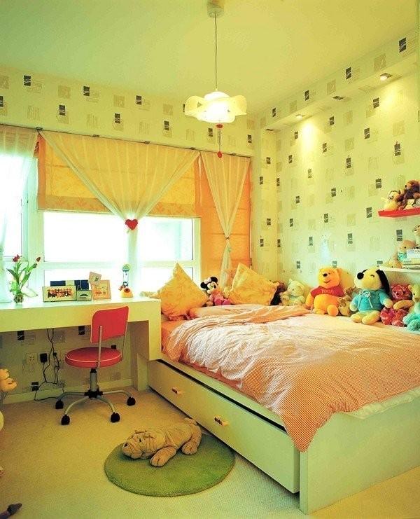 女孩子房间装修设计图片