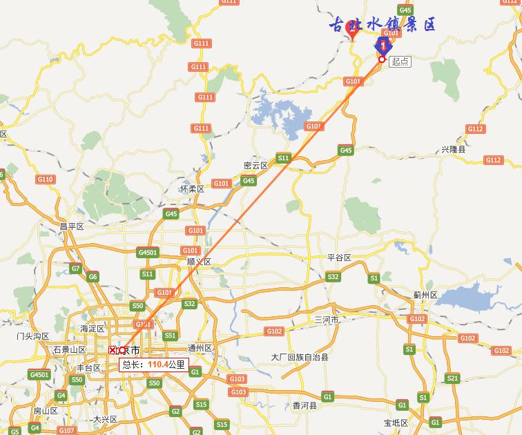 北京古北水镇在哪里