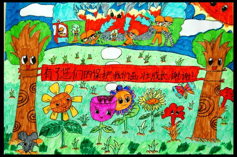 儿童画 800_531图片