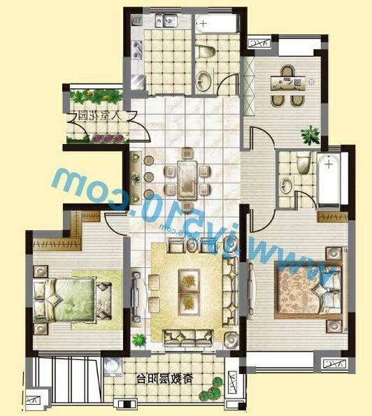 农村两间两层楼房图纸,农村两间两层楼房,两间三层楼房设计图