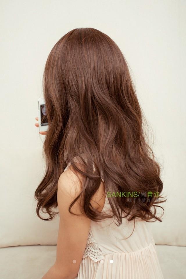 这头发是什么颜色图片