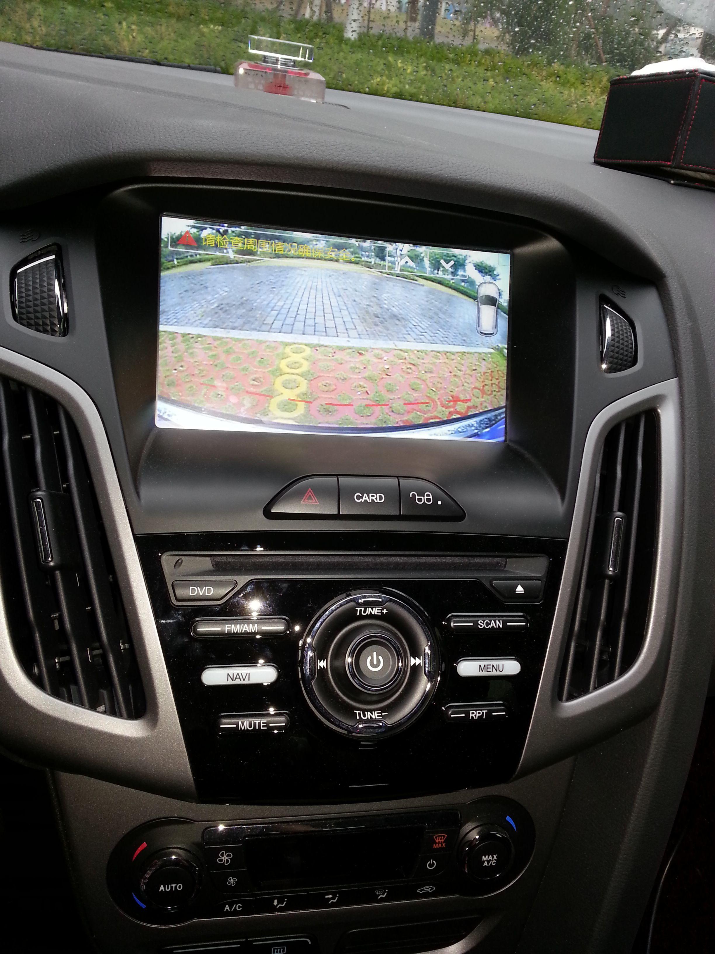 汽车倒车影像轨迹线 高清图片
