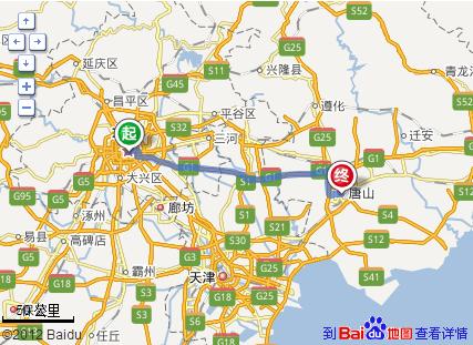 北京到滦县古城