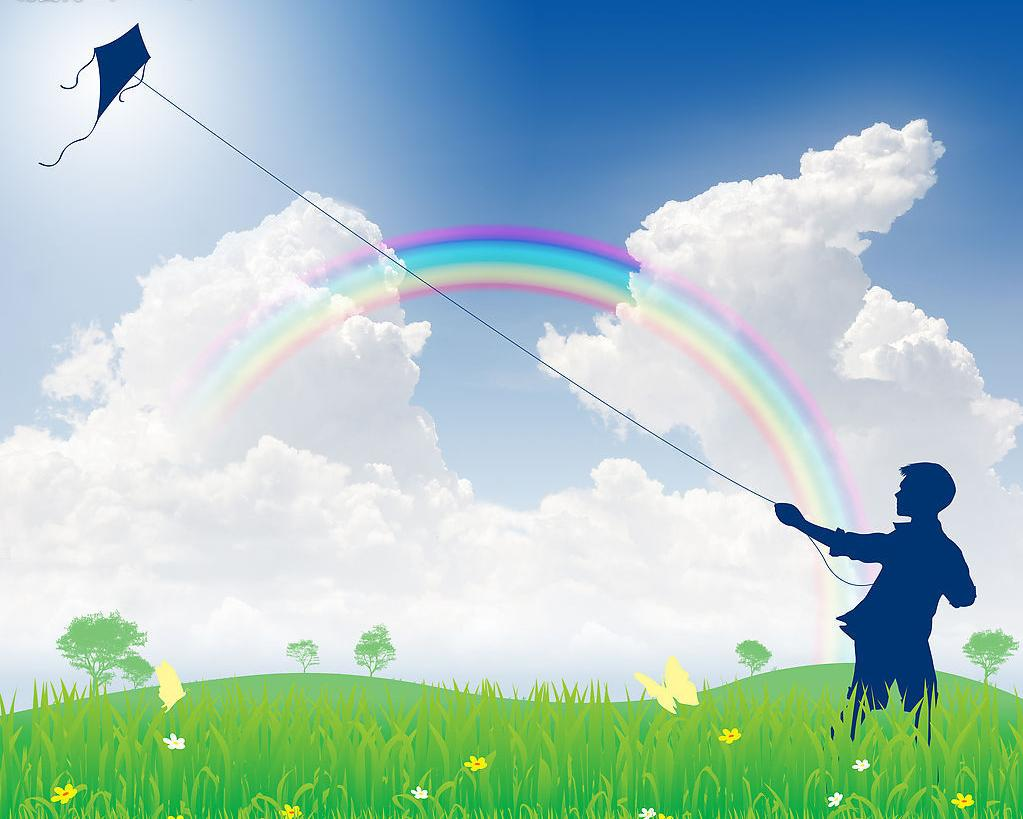 u653e u98ce u7b5d u4f5c u6587450 u5b57  u767e u5ea6 u77e5 u9053 clip art of rainbows and sunshine clip art of rainbows and unicorns