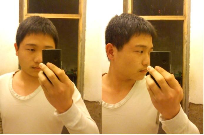 脸大头大的男生适合什么发型图片