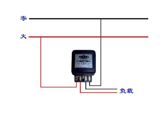 单相智能电表接线_单相电表接线图_三相电表接线图_火爆安防招